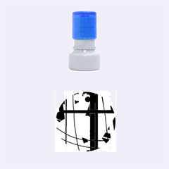 Window Rubber Round Stamps (Small)