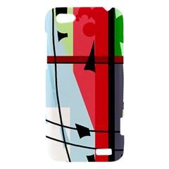 Window HTC One V Hardshell Case