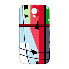 Window Samsung Galaxy S4 I9500/I9505  Hardshell Back Case