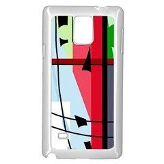 Window Samsung Galaxy Note 4 Case (White)