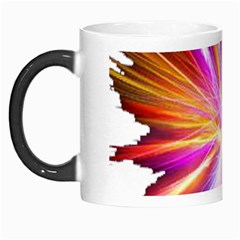 Colorful Abstract Light Rays Morph Mugs