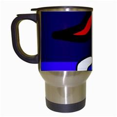 Night duck Travel Mugs (White)
