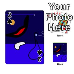 Night duck Playing Cards 54 Designs