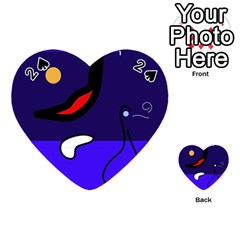 Night duck Playing Cards 54 (Heart)