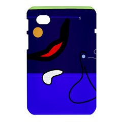 Night duck Samsung Galaxy Tab 7  P1000 Hardshell Case