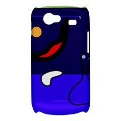 Night duck Samsung Galaxy Nexus S i9020 Hardshell Case
