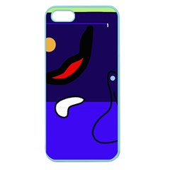 Night duck Apple Seamless iPhone 5 Case (Color)