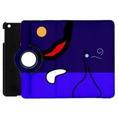 Night duck Apple iPad Mini Flip 360 Case
