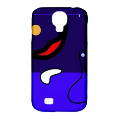 Night duck Samsung Galaxy S4 Classic Hardshell Case (PC+Silicone)