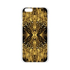 Beautiful Gold Brown Traditional Pattern Apple Seamless iPhone 6/6S Case (Transparent)