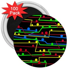 Stay in line 3  Magnets (100 pack)