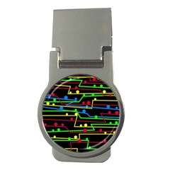 Stay in line Money Clips (Round)