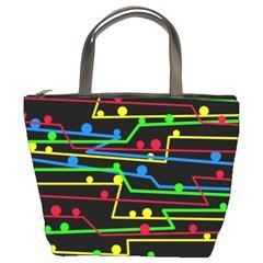 Stay in line Bucket Bags