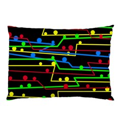Stay in line Pillow Case