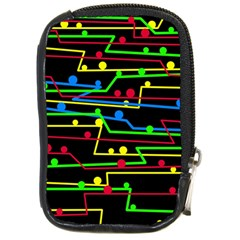 Stay in line Compact Camera Cases