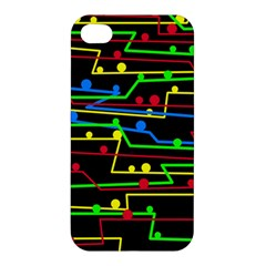 Stay in line Apple iPhone 4/4S Hardshell Case