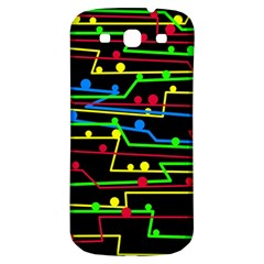Stay in line Samsung Galaxy S3 S III Classic Hardshell Back Case