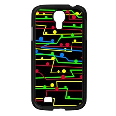 Stay in line Samsung Galaxy S4 I9500/ I9505 Case (Black)