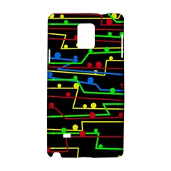 Stay in line Samsung Galaxy Note 4 Hardshell Case