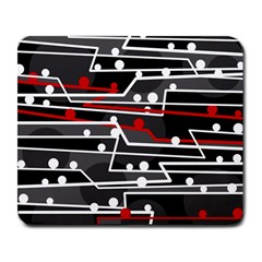 Stay in line Large Mousepads