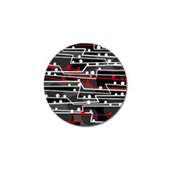 Stay in line Golf Ball Marker (10 pack)
