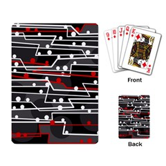 Stay in line Playing Card