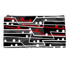 Stay in line Pencil Cases