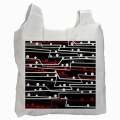 Stay in line Recycle Bag (One Side)