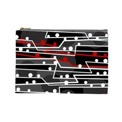 Stay in line Cosmetic Bag (Large)