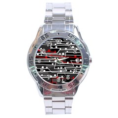Stay in line Stainless Steel Analogue Watch