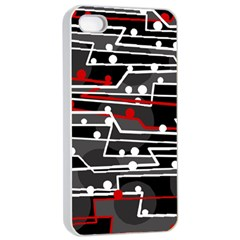 Stay in line Apple iPhone 4/4s Seamless Case (White)