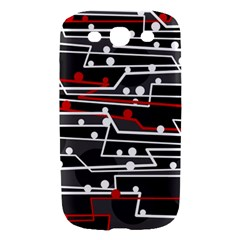 Stay in line Samsung Galaxy S III Hardshell Case