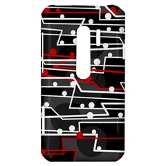 Stay in line HTC Evo 3D Hardshell Case