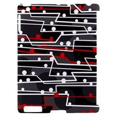 Stay in line Apple iPad 2 Hardshell Case (Compatible with Smart Cover)