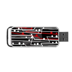 Stay in line Portable USB Flash (One Side)