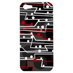 Stay in line Apple iPhone 5 Hardshell Case
