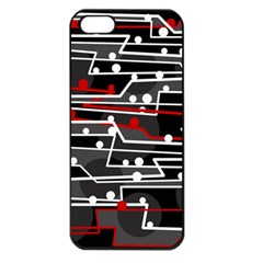 Stay in line Apple iPhone 5 Seamless Case (Black)