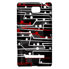 Stay in line HTC 8S Hardshell Case