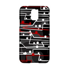 Stay in line Samsung Galaxy S5 Hardshell Case