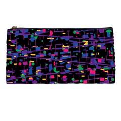 Purple galaxy Pencil Cases