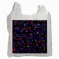 Purple galaxy Recycle Bag (One Side)