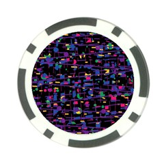 Purple galaxy Poker Chip Card Guards (10 pack)