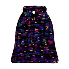 Purple galaxy Ornament (Bell)
