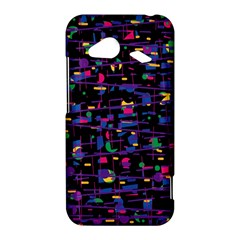 Purple galaxy HTC Droid Incredible 4G LTE Hardshell Case