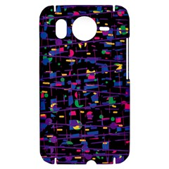 Purple galaxy HTC Desire HD Hardshell Case