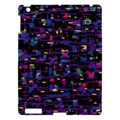 Purple galaxy Apple iPad 3/4 Hardshell Case