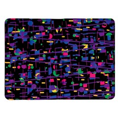 Purple galaxy Kindle Fire (1st Gen) Flip Case