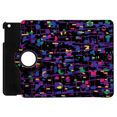Purple galaxy Apple iPad Mini Flip 360 Case