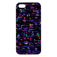 Purple galaxy Apple iPhone 5 Premium Hardshell Case