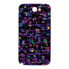 Purple galaxy Samsung Note 2 N7100 Hardshell Back Case